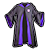 Purple Wizard Robe