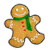 Gingerbread Man green