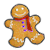 Gingerbread Man red
