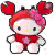 Crab Helly Kitty Plushie