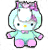 Pony Helly Kitty Plushie