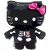 Skeleton Helly Kitty Plushie