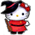 Witch Helly Kitty Plushie