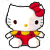 Helly Kitty Plushie