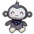 Gray Monkey Plush